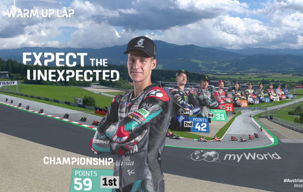 Dorna thrills MotoGP viewing audience with VR and AR graphics