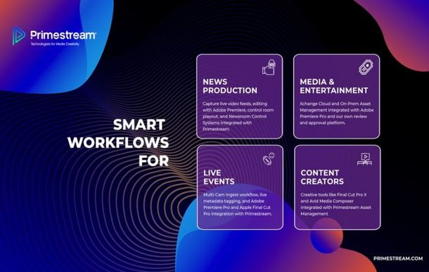 Primestream Experts to Address Smart Workflows in Virtual IBC