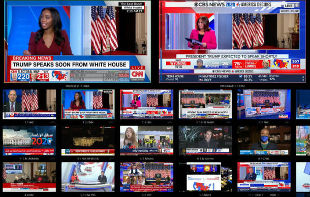Vizrt Graphics Power Election Night with Real-Time Data