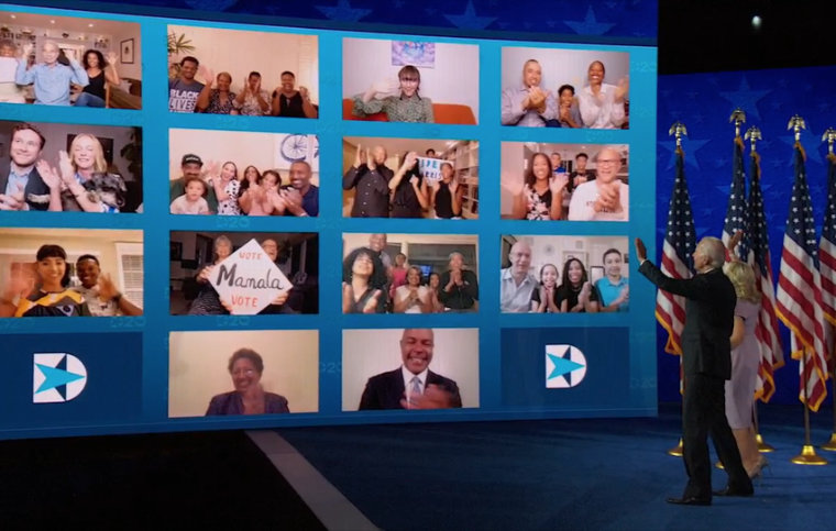 LTN Global powered production at the 2020 Democratic National Convention