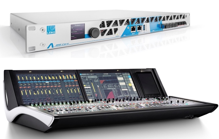 Lawo presents new Audio Console Core and compact mc² Mixing Console